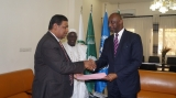 Ambassador of Sri Lanka presents Credentials to the Republic of Mali