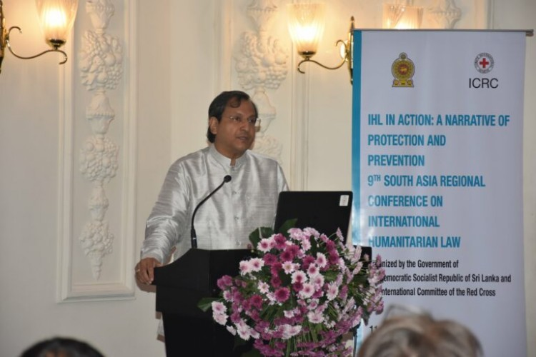 Sri Lanka has provided valuable case studies of successes and challenges in operationalization of IHL and Humanitarian Diplomacy – Foreign Secretary Aryasinha