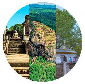 இலங்கையில் யுனெஸ்கோவின் முதலாவது உலக பாரம்பரியத் தளங்கள்