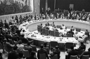 Sri Lanka (Ceylon) becomes a Member of the UN Security Council
