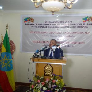 Official opening of Sri Lanka Embassy in Ethiopia