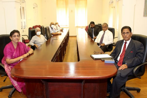 THE NEW EXECUTIVE DIRECTOR ASSUMES DUTIES AT THE LAKSHMAN KADIRGAMAR INSTITUTE FOR INTERNATIONAL RELATIONS AND STRATEGIC STUDIES